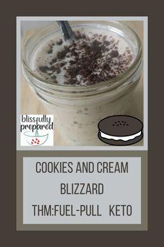 Trim Healthy Mama Diet, Trim Healthy Recipes, Thm Recipes, Recipes Dinner, Blizzard Recipe, Thm Fuel Pull, Mama Eat, Keto Ice Cream, Spiced Coffee