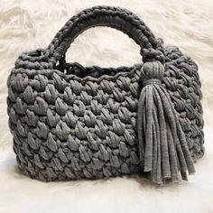 Marvelous Crochet A Shell Stitch Purse Bag Ideas. Wonderful Crochet A Shell Stitch Purse Bag Ideas. Free Crochet Bag, Crochet Shell Stitch, Crochet Handbags, Crochet Purses, Crochet Hats For Boys, Cotton Cord, Diy Crafts Crochet, Crochet T Shirts, Bag Pattern Free