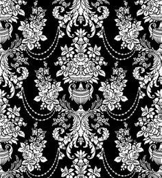 traditionnel classique en noir et blanc, modèle 02 vectoriel