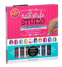 klutz nail style studio book kit birthday presents for girls christmas presents for kids