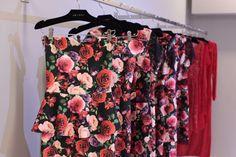 Jodri #arara #roses #red #pink #dress