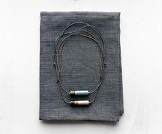 Heath Jewelry Small Barrel Necklaces - Heath Ceramics 2017 Summer Seasonal Collection