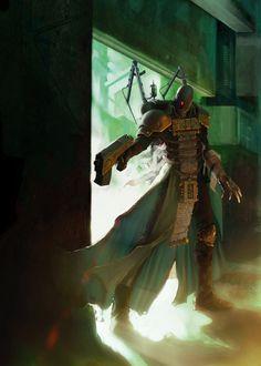 fortyk:  Inquisitor Thorien by stefan-kopinski