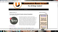 On University Blogspot!