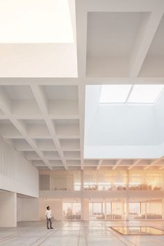 OAB - Office of Architecture in Barcelona / Kaplankaya Cluster, Bodrum, 2013 Architecture Design, Architecture Drawings, Ceiling Design, Office Interiors, Atrium, House, Sea Level, Greek Islands, West Coast
