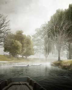 CGarchitect - Professional 3D Architectural Visualization User Community | VOID_river view