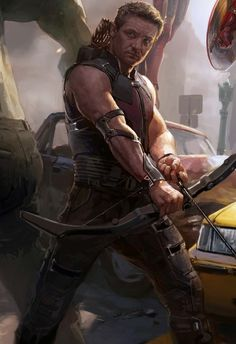 Hawkeye - I don't know why but I just like this picture ; )