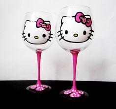 Taças da Hello Kitty
