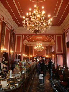 chocolate wonderland in Warsaw:  E. Wedel