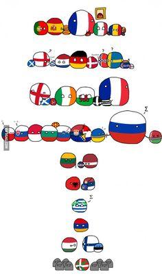 Infographic : European languages families European languages families By MagnificentCat Information graphics, visual representations of data known as Hetalia, Tumblr Funny, Funny Memes, European Languages, Mundo Comic, History Memes, Country Art, Fun Comics, Funny Cute