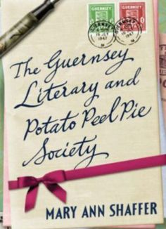 I love this book. The Guernsey Literary and Potato Peel Pie Society. About a secret society on the Isle of Guernsey during German occupation that I want to join. I Love Books, Good Books, My Books, Mary Ann Shaffer, Potato Peel Pie Society, The Guernsey Literary, Books Everyone Should Read, Peeling Potatoes, Historical Fiction
