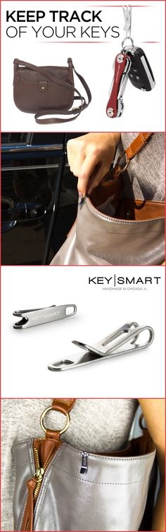Stop digging through your purse searching for your keys. With this awesome little clip, you can access them quickly and easily. A great life hack you'll use every day! Use coupon code ORGANIZE15 this month and receive 15% off!