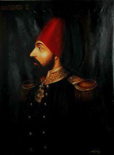 Sultan II. Mahmut  110X170 cm yağlıboy