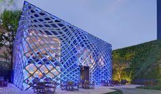 Restauracja Tori-Tori w mieście Meksyk, proj. Rojkind Arquitectos i Esrawe Studio