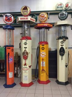 Restored Visible Gravity Gas Pumps