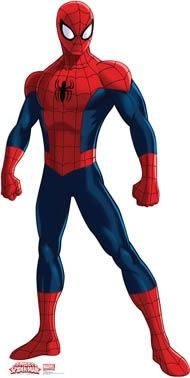 Marvel Ultimate Spider-Man Giant Cardboard Standup & Pop Out Props ~ over 5 feet tall Ultimate Spider Man, Spiderman Images, Amazing Spiderman, Spider Man 2, Spiderman Drawing, Life Size Cardboard Cutouts, Men Tv, Superhero Birthday Party, Birthday Parties