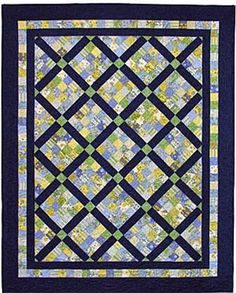 Jelly Patch - Straight to the Point Series Quilt Pattern QW-14