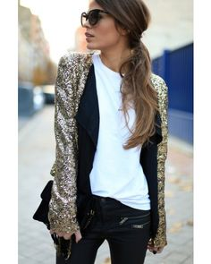 Sequin Blazer need this for next NYE or winter Vegas trip.