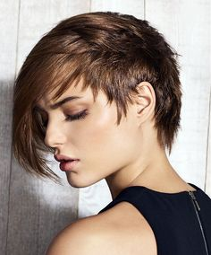 Jean Louis David Short Brown Hairstyles