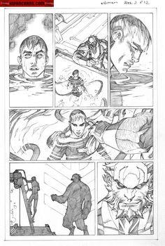 Kwan Chang :: For Sale Artwork :: Inhuman # 2 by artist Joe Madureira