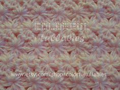 Ravelry: Jasmine Stitch No. 7- 6 petals with bobbles in rows pattern by Sara Palacios