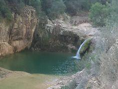 la ruta dels tres gorgs del Camí de la Riera de Carme Spain Travel, Trekking, Trail, Places To Visit, Camping, Water, Outdoor, Lakes, Chop Saw