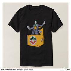 The Joker Out of the Box Shirt
