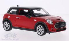 Mini Cooper S, rot/schwarz