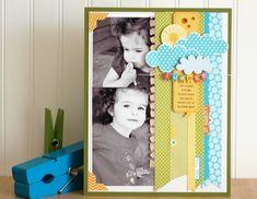 8.5 x 11 Scrapbook  Jennifer Gallacher