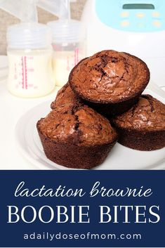 Whether you know a breastfeeding or pumping mom or you are one, these lactation brownie boobie bites are a simple and delicious way to increase breastmilk supply! Source by breastfeeding Breastfeeding Foods, Breastfeeding Images, Breastfeeding Support, Lactation Recipes, Lactation Foods, Lactation Cookies, Foods To Avoid, Pregnant Mom, Cravings