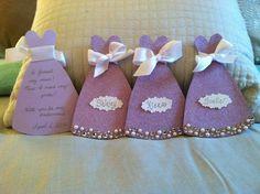 My bridesmaids invitations that I made!
