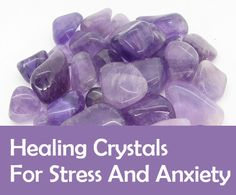 Find out which are the best healing crystals for stress and anxiety. An unconventional approach to help alleviate stress is through healing crystals. Best Healing Crystals, Healing Stones, Crystal Healing, Crystals Minerals, Crystals And Gemstones, Stones And Crystals, Amethyst Gemstone, Peridot, Crystal For Anxiety
