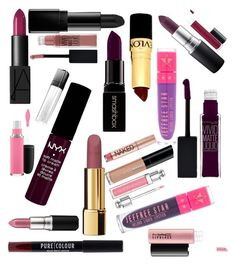 """""""lipstick"""" by isobelle206 ❤ liked on Polyvore featuring NYX, MAC Cosmetics, NARS Cosmetics, Maybelline, Illamasqua, Chanel, Revlon, Smashbox, Christian Dior and L'Oréal Paris"""