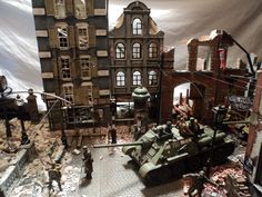 Fall of Berlin 1945 1/35 scale diorama built by Thomas Valle 2014
