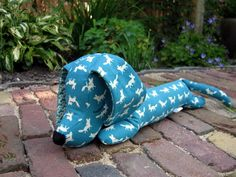 Little Freddy the Dachshund, of Kokka fabric.  SOLD!