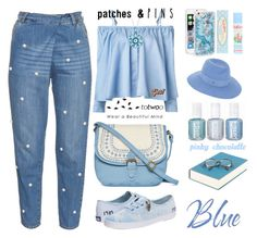 """""""TOTWOO Global Launch - Patch It, Pin It, Perfect: 03/05/16"""" by pinky-chocolatte ❤ liked on Polyvore featuring Muveil, Sandy Liang, Anya Hindmarch, Cath Kidston, T-shirt & Jeans, Keds, Skinnydip, Maison Michel and Chanel"""