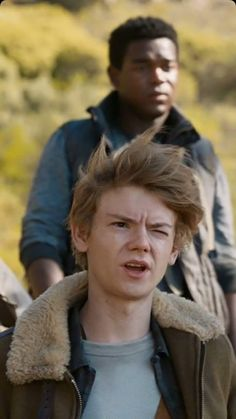 """Three years we step behind walls, trying to break out. Now, we're trying to break back in."" Newt"