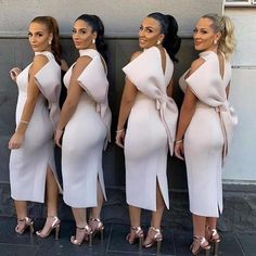 2019 New Bridesmaid Dresses Ankle Length Halter Neck Wedding Guest Maid Of Honor Dress Vestidos De Noiva Cheap Bridesmaid Dresses Online, Wedding Bridesmaid Dresses, Wedding Attire, African Bridesmaid Dresses, Wedding Gowns, African Wedding Dress, Cheap Dresses, Bridesmaid Duties, Pageant Gowns