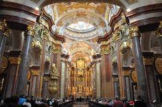 Breathtaking images of Benedictine Melk Abbey, Austria, featuring frescoes of Johann Michael Rottmayr   Sources (1,2,3,4,5)