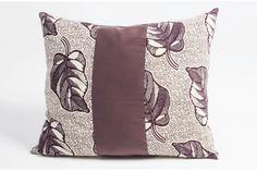 Leaf cushion by Jeli Cushions, Leaves, Throw Pillows, Plants, Design, Toss Pillows, Toss Pillows, Pillows