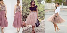 Spódnica Tiulowa – Sprawdź Jak Ją Nosić! Tulle, Ballet Skirt, Fit, Skirts, Fashion, Moda, Shape, Skirt Outfits, Skirt