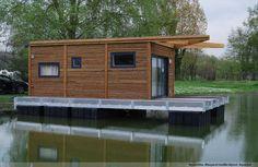 Une maison flottante AquaMinka dans la Somme (60)