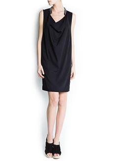 6. Unique black dress