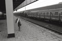 Essen-Hauptbahnhof 1978      Wilder Westen Ruhrgebiet. Irgendwie fallen einem alle Westernfilme ein, und dann kann man eigentlich nicht glauben was man sieht.