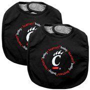 Cincinnati Bearcats 2-Pack Baby Bibs - Black