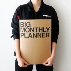 The Big Monthly Planner is one of many adorable and functional products in the MochiThings collection. Discover and learn more about it today! Monthly Planner, Free Planner, Organization Hacks, Organizing Ideas, Teacher Organization, Getting Organized, Just In Case, Things I Want, How To Plan