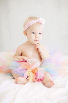 baby girl photo idea