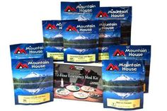 Camping Kitchen :Mountain House Just in Case 72 Hour Kit * New and awesome product awaits you, Read it now 72 Hour Emergency Kit, Emergency Food Supply, 72 Hour Kits, Emergency Preparedness, Emergency Planning, Survival Supplies, Emergency Supplies, Survival Life, Survival Food