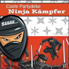 Party Deko Mottoparty Ninja