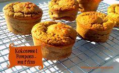 pompoen muffins kokosmeel